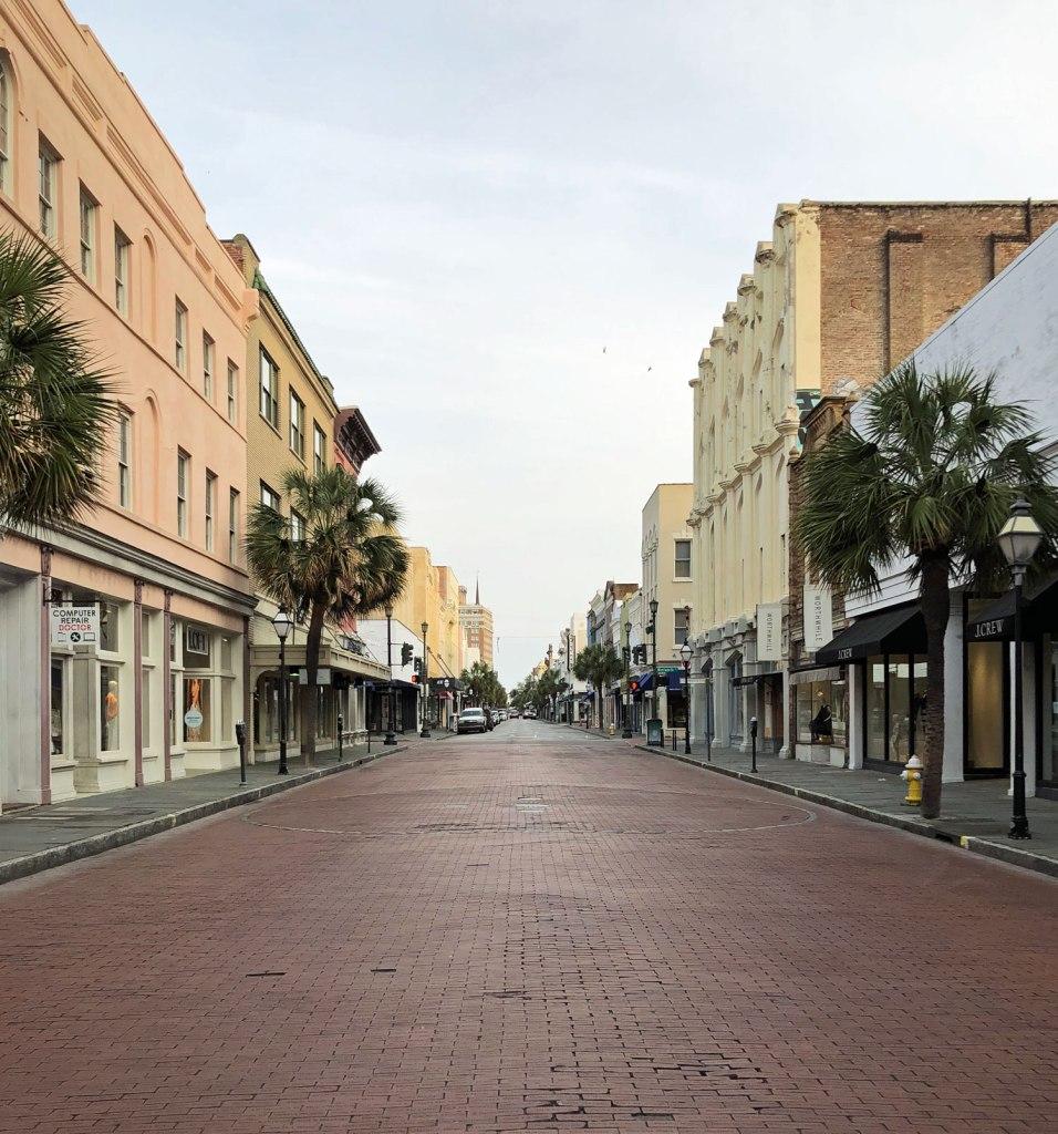 King Street, Charleston, SC.